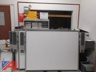 (2) NEC Projectors, (1) Dell 745, (2) Smart Boards