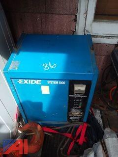 Exide System 1000 Forklift Battery Charger