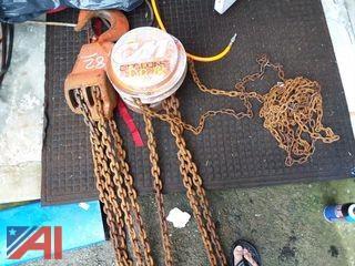 CM Cyclone 10 Ton Chain Hoist