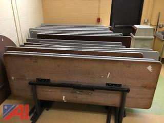 (12) Conference Room Folding Tables