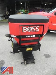 Boss TGS08000 Tailgate Spreader Assy, 8 CU FT, 2 Stage