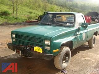 1986 Chevy D30 Pickup
