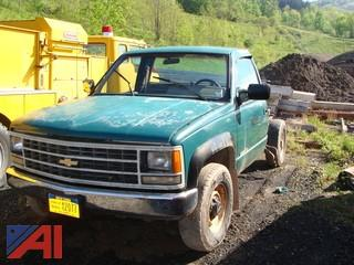 1992 Chevy 2500 Cab and Chassis