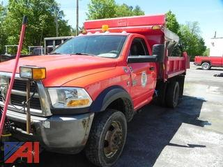 2011 Dodge Ram 5500 Pickup w/ Plow & Stainless Sander