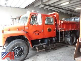 **Lot Updated** 1987 International S1900 Crew 4 Door Dump Truck