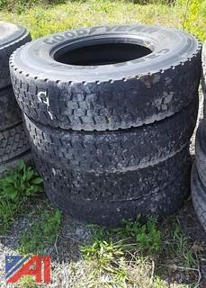 (4) Recapped Goodyear Tires