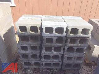 (8) Pallets of Unused Chimney & Cinder Blocks