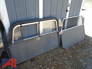 (1) Police Car Interior Cage