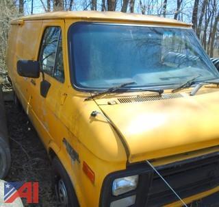 1990 Chevy G20 Van