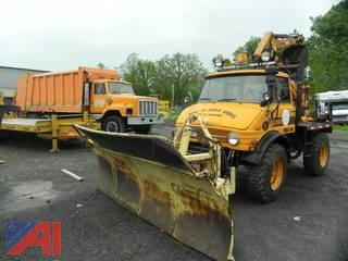 1977 Case MB4/94 Truck with Backhoe and Plow