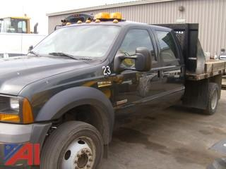 2006 Ford F550 Flatbed