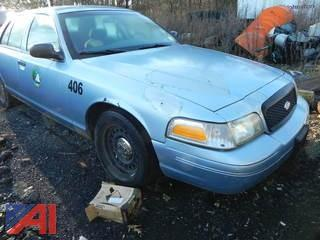2001 Ford Crown Victoria 4DSD/Police Interceptor