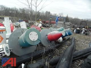Lot of Large & Small Buoys