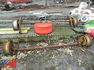 Set of Trailer Axles