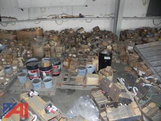 Tons of Various Size Nuts & Bolts, Many New/Old Stock