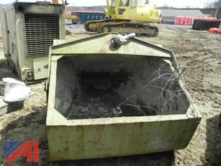 Large Concrete Hopper