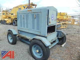 Universal DC15K4H2 15 kw Generator on Wheels