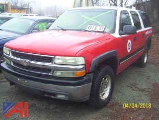 2000 Chevy Suburban SUV