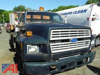 1992 Ford F600 Rack Body Truck