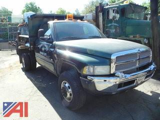 2002 Dodge Ram 3500 Dump Truck