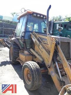 1991 Case 580 Super K Backhoe
