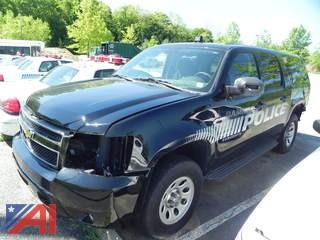 2011 Chevrolet Suburban SUV/Police Vehicle