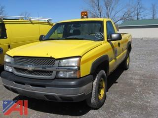 2003 Chevy Silverado 2500 Pickup