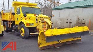 1998 International 4900 Dump Truck with Plow