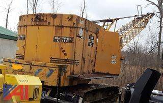 1964 Bucyrus-Erie 25-B Lattice Boom Crane & Dredge Baskets