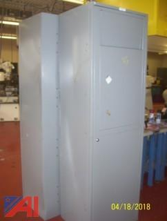 (6) Metal Cabinets