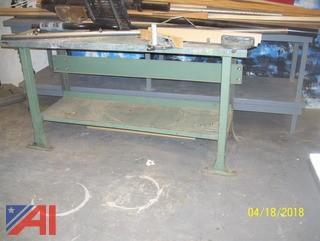 (2) Shop Tables