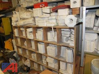 100's of Various Ceramic Molds