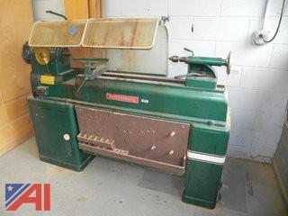 Powermatic Model #90 Wood lathe & Tools