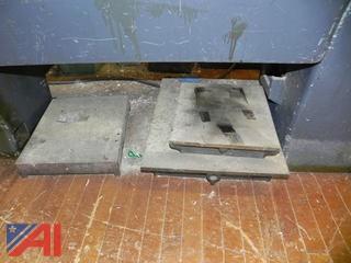 (3) Machine Plates
