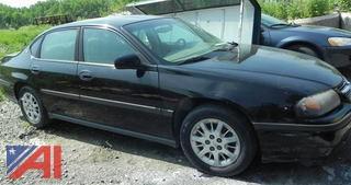 2005 Chevy Impala 4 Door