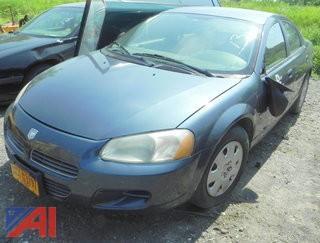 2002 Dodge Stratus 4 Door