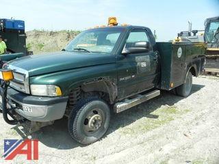 2001 Dodge Ram 3500 Utility Truck