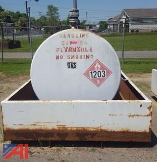 500 Gallon Gasoline Tank