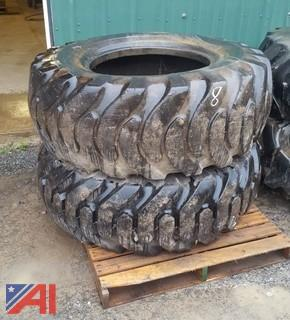 (2) 17.5/25 Tires