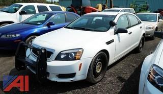 2013 Chevrolet Caprice 4 Door Sedan/Police Vehicle