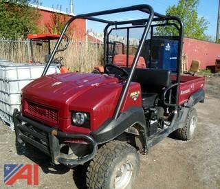 2012 Kawasaki 4010 Mule 4x4 ATV