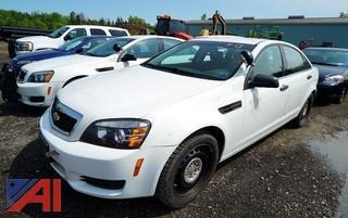 2013 Chevy Caprice 4 Door Sedan/Police Vehicle
