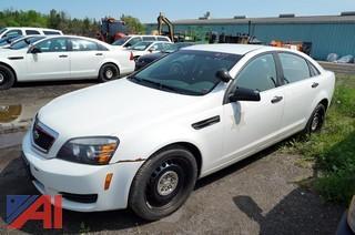 2012 Chevrolet Caprice 4 Door Sedan/Police Vehicle