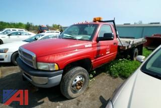 **Mileage Updated** 2001 Dodge Ram 3500 Flatbed