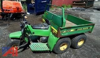 1990 John Deere AMT600 5 Wheel Utility Transport Vehicle