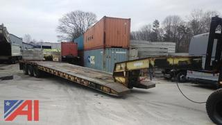 **Reserves Lowered** 1990 Witzco Low Boy Trailer