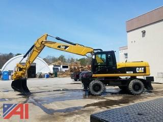 **Reserves Lowered** 2011 CAT M322D Excavator