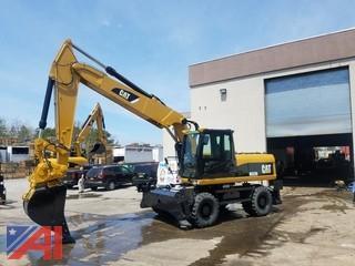 **Reserves Lowered** 2009 CAT M322D Excavator