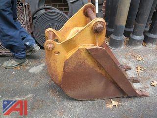 Case 580 K Backhoe Bucket
