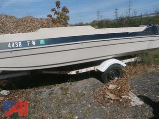 16' Chrysler Boat and Trailer